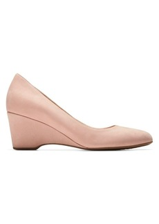 Cole Haan Go To Leather Wedge Pumps