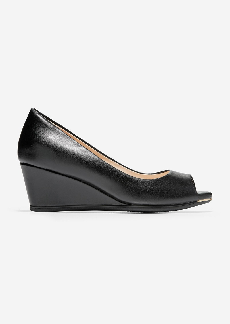 Cole Haan Grand Ambition Open Toe Wedge