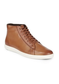 Cole Haan Grand Crosscourt Leather High Top Sneakers