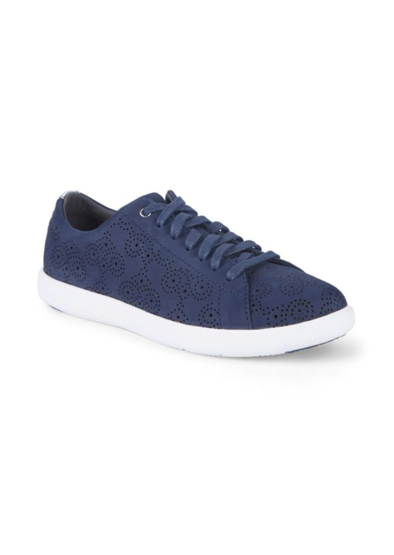 Cole Haan Grand Crosscourt Perforated Low-Top Sneakers