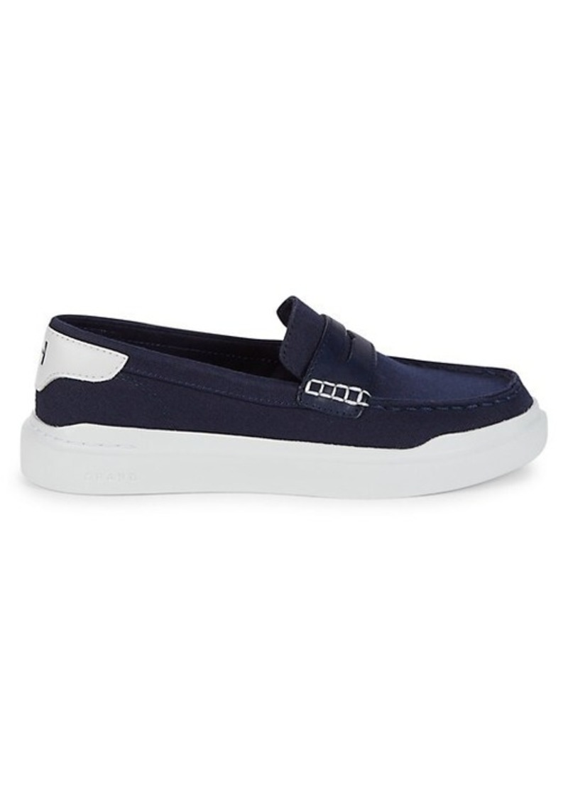 Cole Haan Grandpro Rally Canvas Penny Loafers