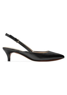 Cole Haan Harlow Leather Slingback Pumps