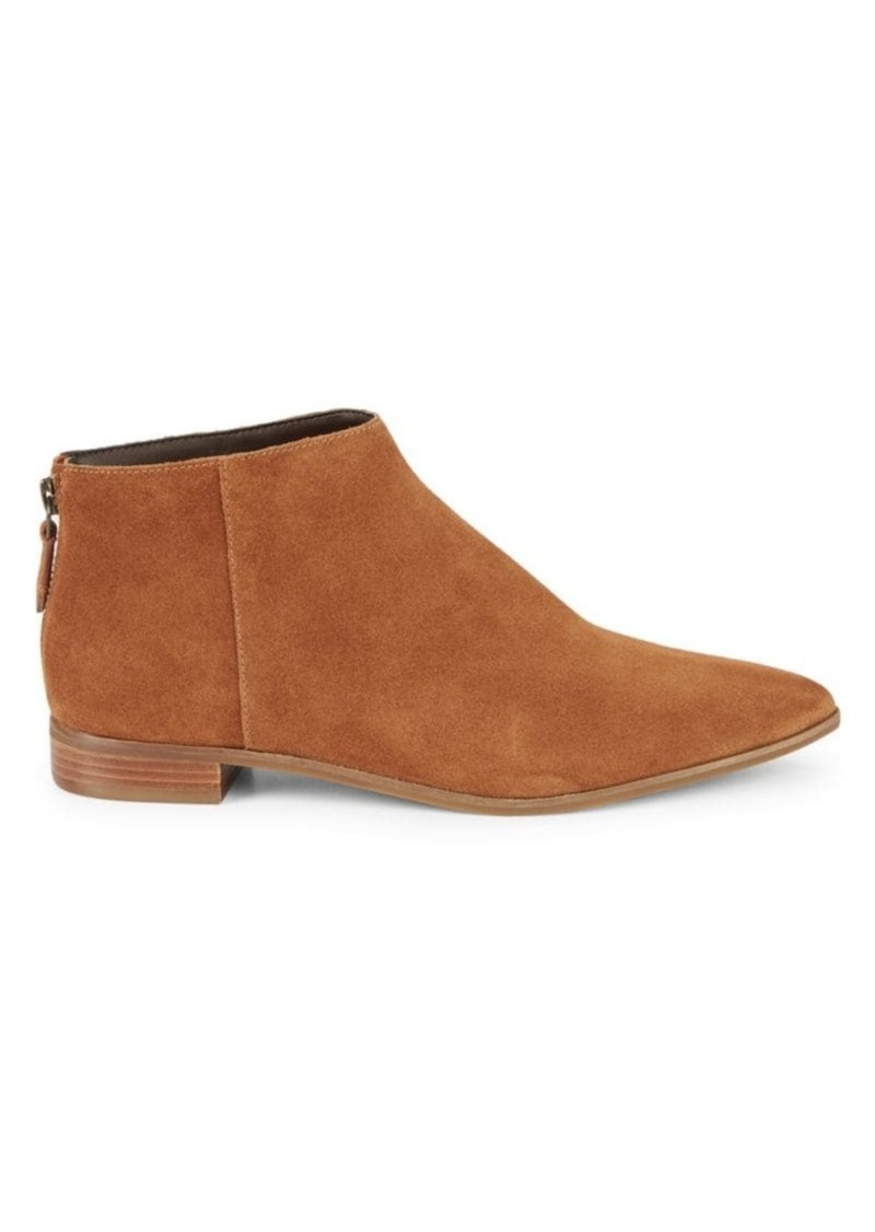 Cole Haan Havana Suede Point-Toe Booties