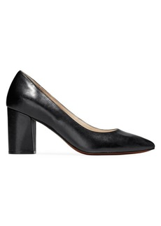 Cole Haan Karena Heeled Leather Pumps