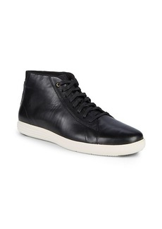 Cole Haan Lace-Up Leather Sneakers