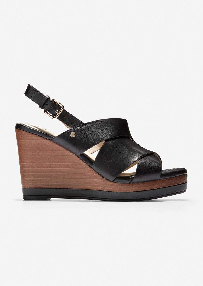 Cole Haan Laci Platform Wedge Sandal
