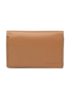 Cole Haan Leather Business Card Case