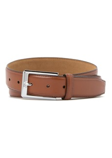 Cole Haan Leather Feather Edge Belt