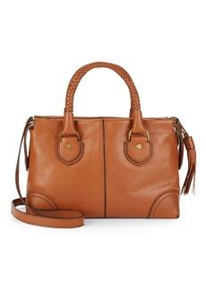 Cole Haan Leather Saddle Satchel