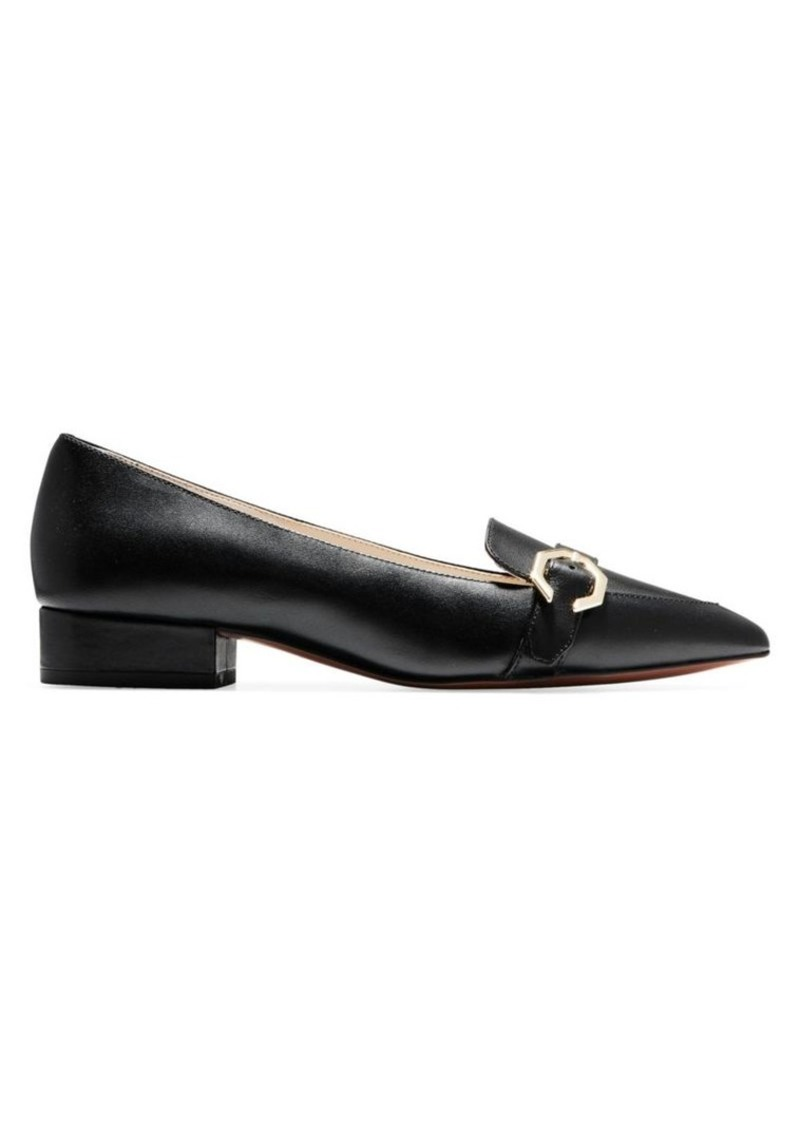 Cole Haan Leela Wrapped Block Heel Skimmers
