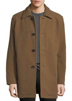 Cole Haan Long Car Coat  Beige