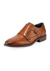 Cole Haan Men's Dawes Grand Double Monk Oxford Shoes  Light Brown