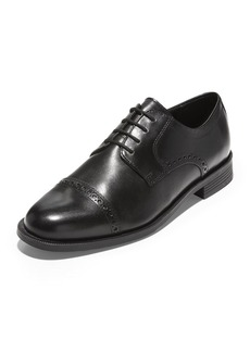 Cole Haan Men's Dustin Brogue Leather Oxfords  Black