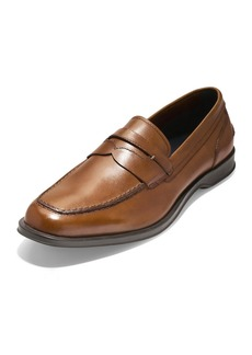 c7feae4e627 Cole Haan Men s Fleming Smooth Leather Penny Loafers Tan