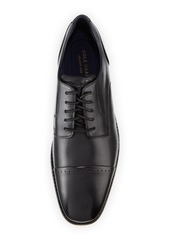 Cole Haan Men's Giraldo Grand 2.0 Cap-Toe Oxfords  Black