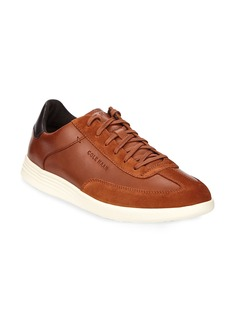 Cole Haan Men's Grand Crosscourt Turf Lace-Up Leather Sneakers