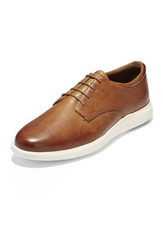 Cole Haan Men's Grand Essex Leather Oxfords  Coffee