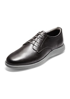 Cole Haan Men's Grand Essex Leather Oxfords  Gray