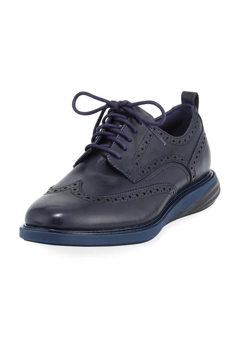 436ef9123db Cole Haan Men s Grand Evolution Leather Sneaker