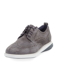 Cole Haan Men's Grand Evolution Suede Sneakers