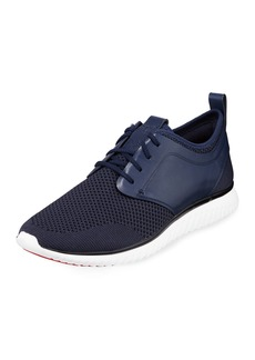 Cole Haan Men's Grand Motion Knit Sneaker  Dark Blue