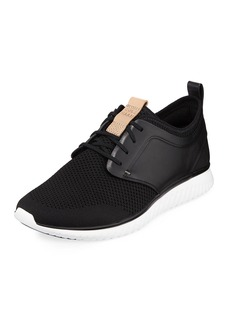 Cole Haan Men's Grand Motion Knit Sneaker  Black