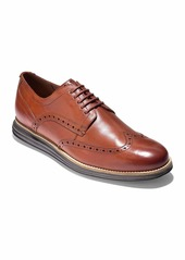 Cole Haan Men's Original Grand Leather Wing-Tip Oxford  Brown