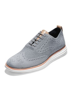 Cole Haan Men's Original Grand Stitchlite Oxford Sneakers  Gray