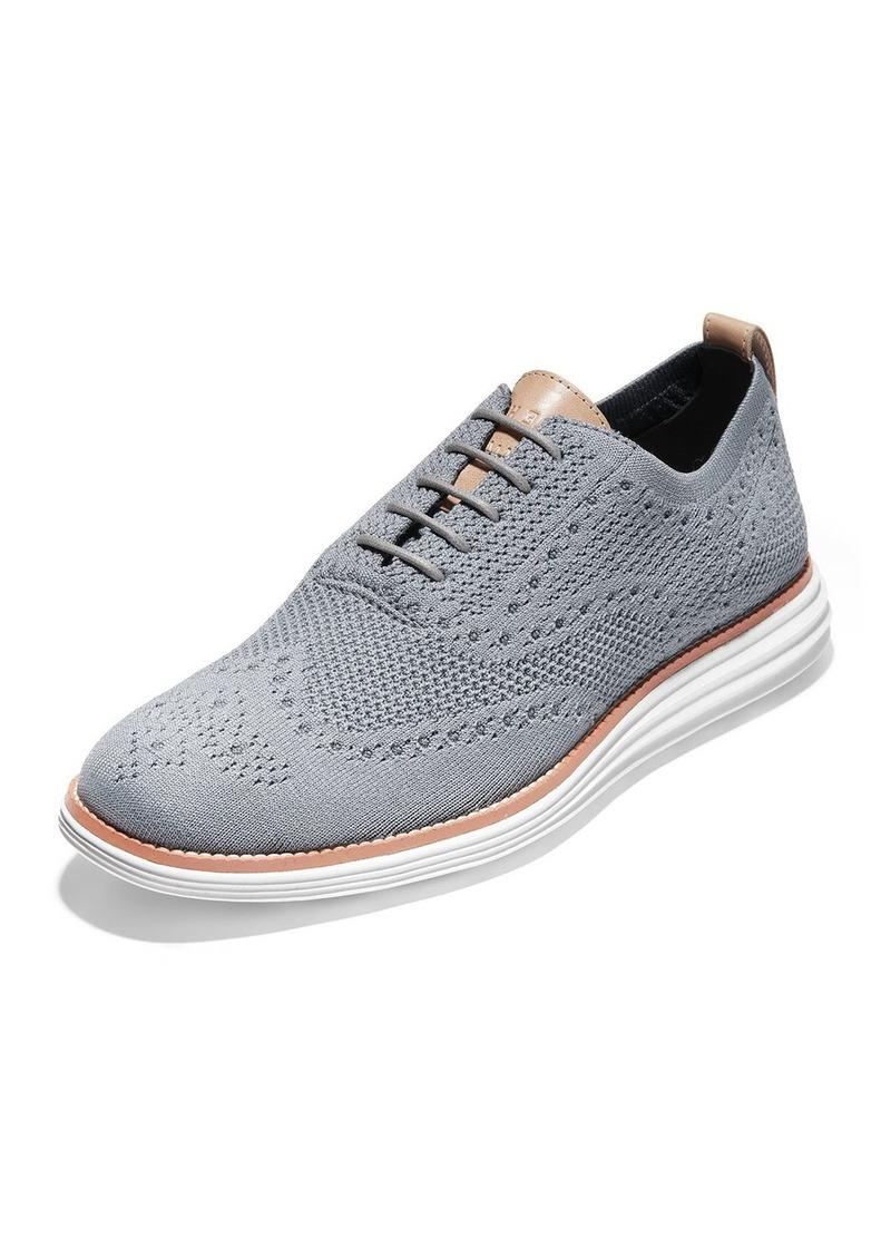 Cole Haan Men's Original Grand Stitchlite Oxford Sneakers  Gray