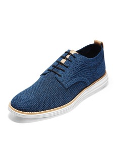 Cole Haan Men's Original Grand Stitchlite Oxfords  Blue