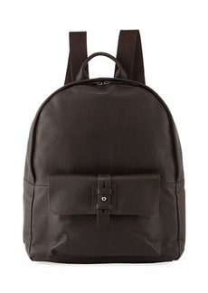 Cole Haan Men's Pebbled Leather Backpack