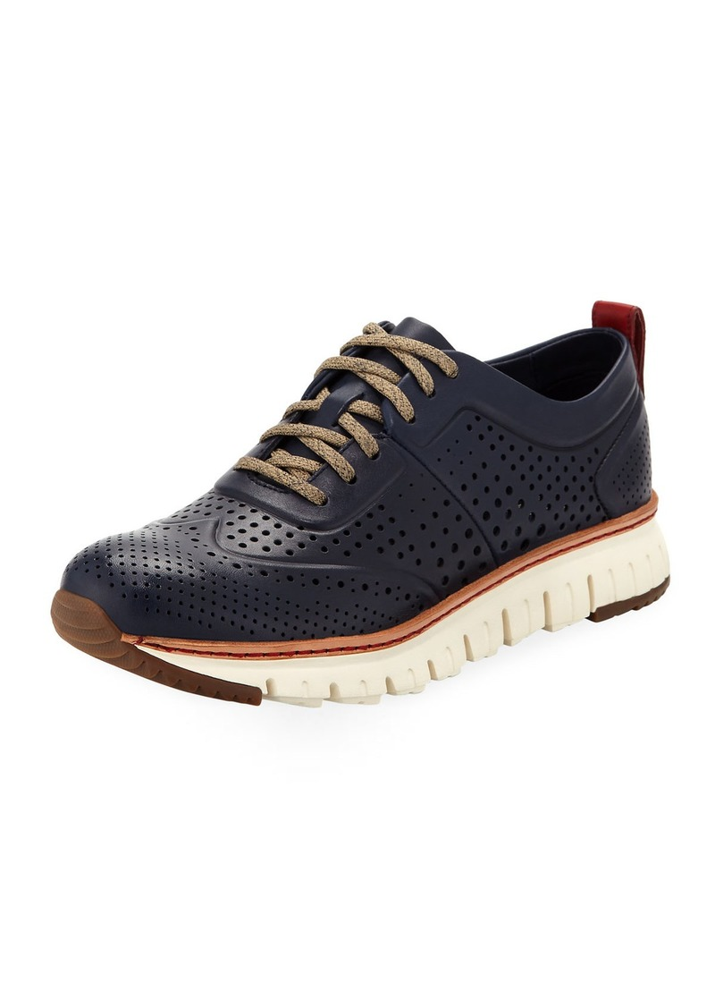 Cole Haan Men's ZeroGrand™ Perforated Sneakers  Medium Blue