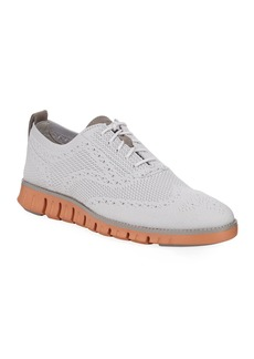 Cole Haan Men's Zeroground Stitchlite Kit-Mesh Wingtip Oxfords