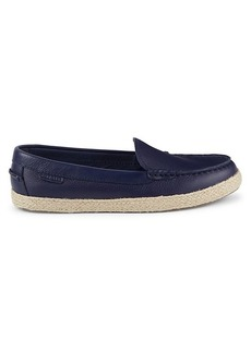 Cole Haan Nantucket Leather Espadrille Loafers