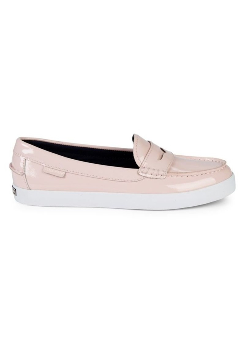 Cole Haan Nantucket Patent Leather Penny Loafers