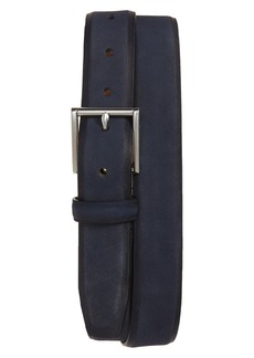 Cole Haan Nubuck Leather Belt