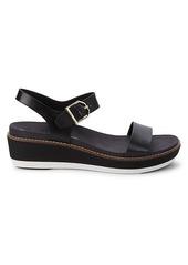 Cole Haan OG Flatform Leather Wedge Sandals