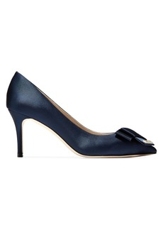 Cole Haan Ophelia Bow Satin Pumps