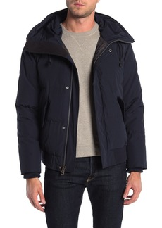 Cole Haan Padded Down Zip Front Jacket