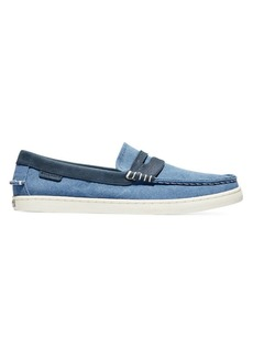 Cole Haan Pinch Canvas & Leather Weekender Loafers