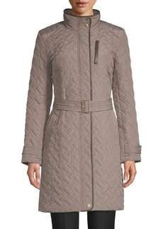 Cole Haan Quilted Coat