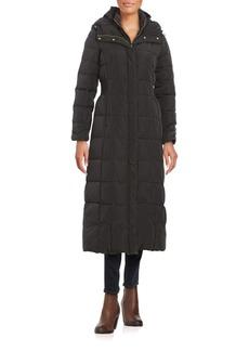 Cole Haan Hooded Down Walker Coat