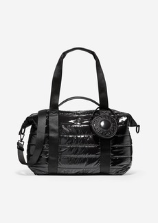 Cole Haan Quilted Nylon Duffle