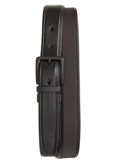 Cole Haan Reversible Nylon Inlay Leather Belt