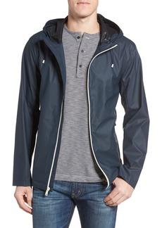Cole Haan Rubberized Hooded Jacket