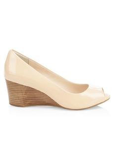 Cole Haan Sadie Patent Leather Wedge Heels