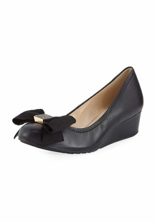 Cole Haan Tali Grand Soft Bow Wedge Pumps