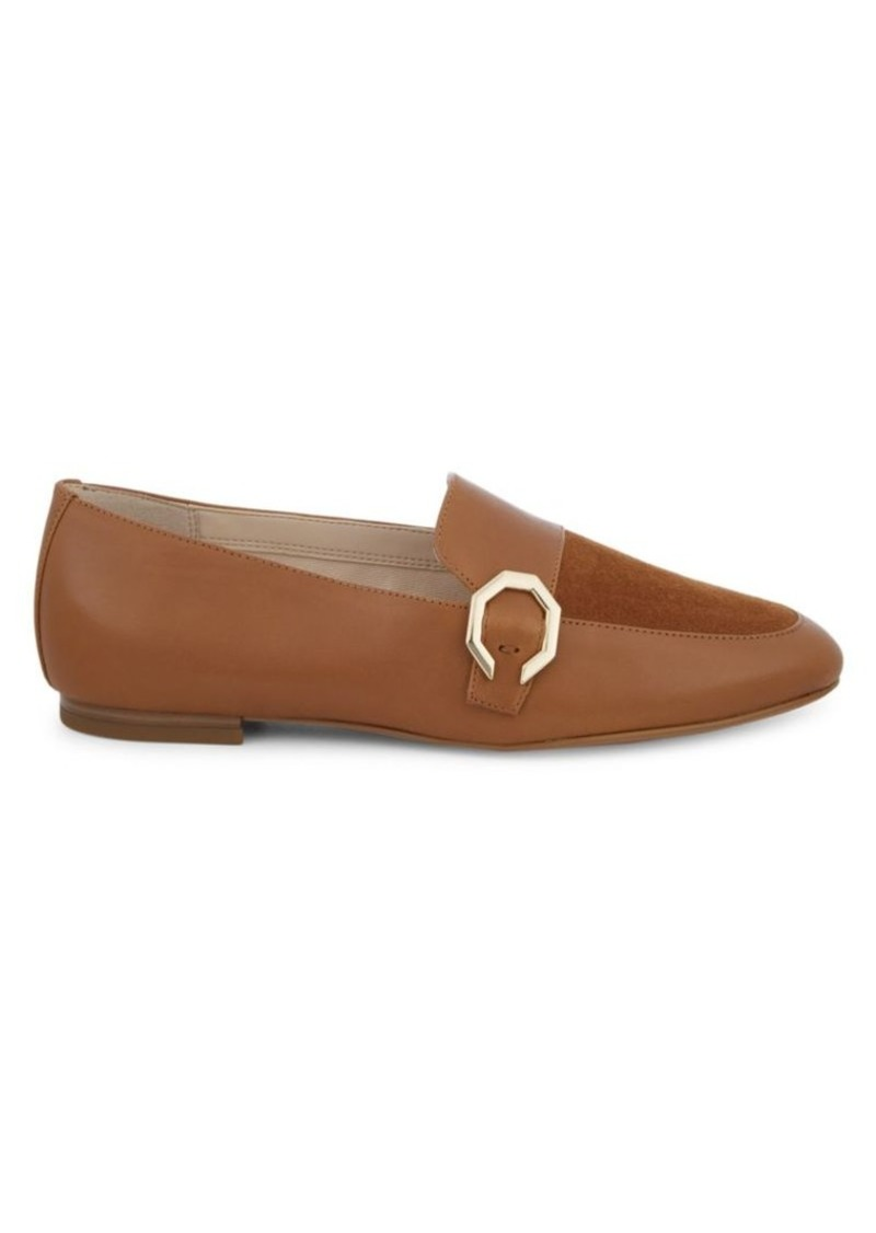 Cole Haan Teresa Leather & Suede Panel Loafers