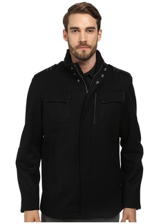 Cole Haan Twill Military Jacket