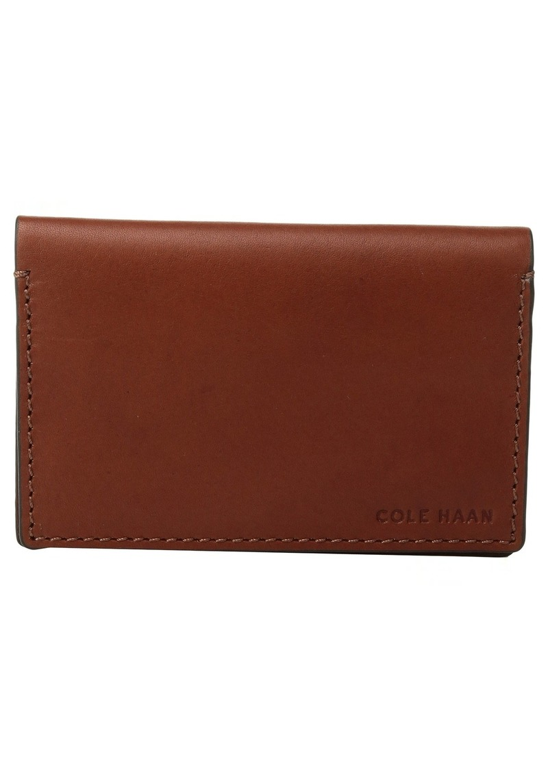 Cole Haan Washington Grand Business Card Case Now $59.99